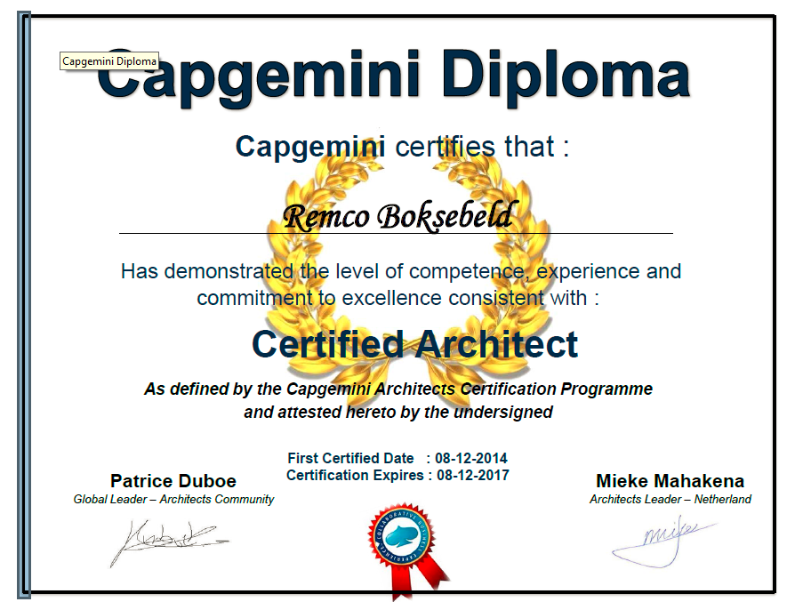 Head in the clouds feet in the mud for Certified architect